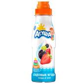 Вода и сок Агуша 300мл садовые ягоды без сахара с 12 месяцев