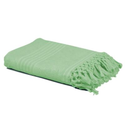 Полотенце спа 90*160см флуор зеленый
