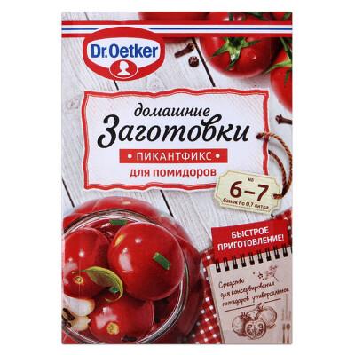 Пикантфикс Dr.Oetker 100г домашние заготовки  для помидоров