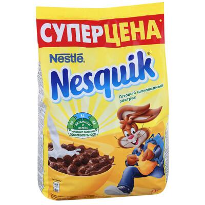 Готовый завтрак Nesquik дуо 700г пакет Nestle
