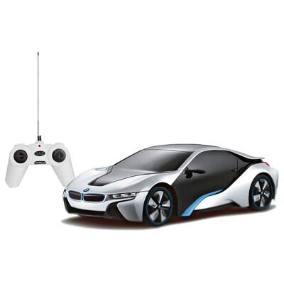 Машина Rastar BMW I8 1:24 белый р/у 48400