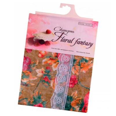 Скатерть пвх floral fantasy 110х140см