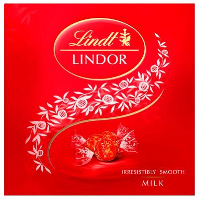 Конфеты Lindor 125г молочный Lindt