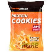Печенье высокобелковое Pure Protein 80г арахисовое масло