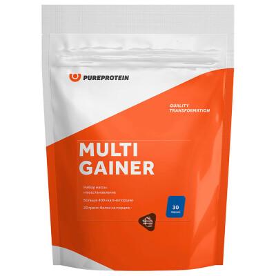 Мультикомпонентный Gainer Pure Protein 1кг двойной шоколад