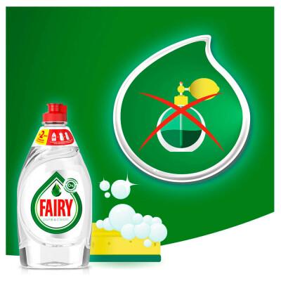 Средство для мытья посуды Fairy 650мл пьюр энд клин