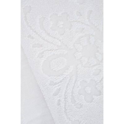Полотенце Arya 70*140см изабель Soft бахрома белый