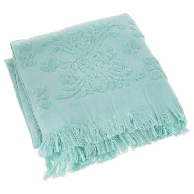 Полотенце Arya 70*140см изабель Soft бахрома мятный