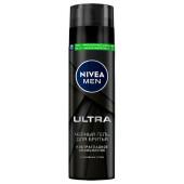 Гель для бритья Nivea 200мл черный ультра
