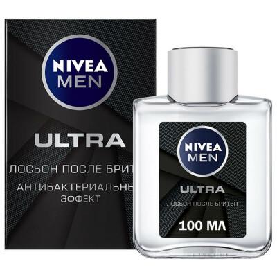 Лосьон после бритья Nivea 100мл ультра антибактериальный уход