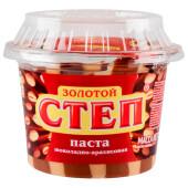 Паста золотой степ шоколадно арахисовая 220г Славянка