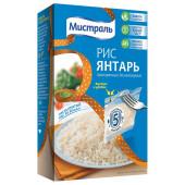 Крупа рис Мистраль 5пак*80г Янтарь к/у