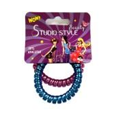 Резинка для волос Studio style 2шт провод