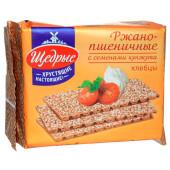 Хлебцы Щедрые 200г ржано пшеничные с посыпкой кунжут