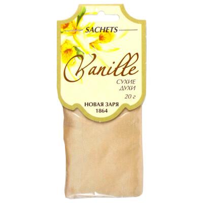 Саше ароматическое Новая Заря 20г ваниль
