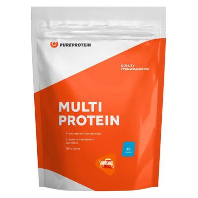 Мультикомпонентный протеин Pure Protein 600г сливочная карамель