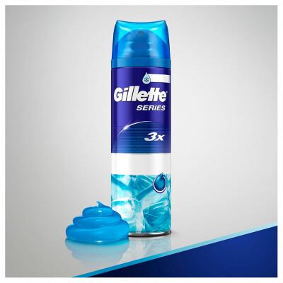 Гель для бритья Gillette 200мл сириес для чувствительной кожи с эффектом охлаждения