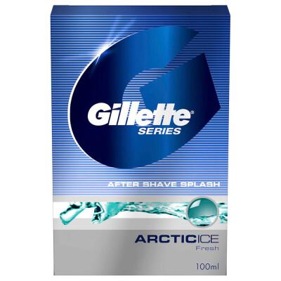 Лосьон после бритья Gillette 100мл сириес арктик айс