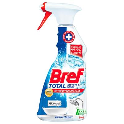 Средство чистящее Bref тотал 500мл для сантехники анти-налет антибактериальный