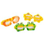 Очки для плавания Intex веселые формы 3-8 лет и55603