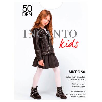 Колготки детские Incanto 50 Den белые р.116-122