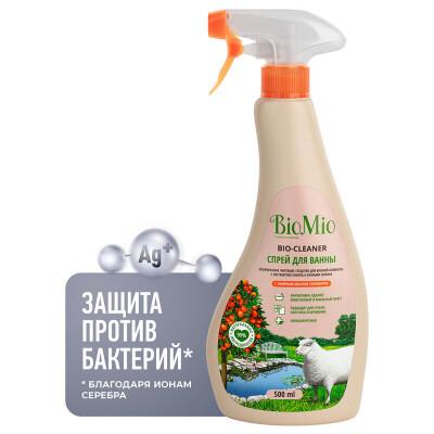 Антибактериальное средство для ванной комнаты BioMio с эфирным маслом ГРЕЙПФРУТА, 500 мл