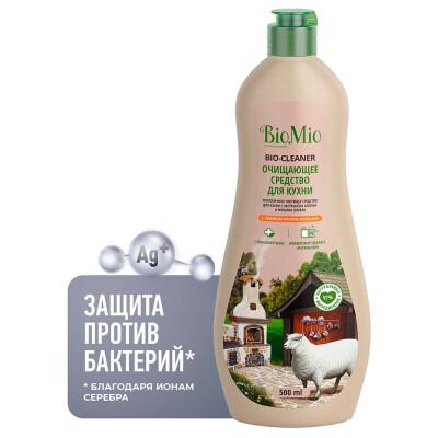 Антибактериальный крем для кухни BioMio с эфирным маслом АПЕЛЬСИНА, 500 мл