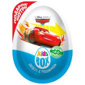 Десерт KidsBox дисней тачки с подарком 20г Конфитрейд