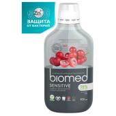 Антибактериальный ополаскиватель для полости рта для снижения чувствительности BIOMED SENSITIVE, 500