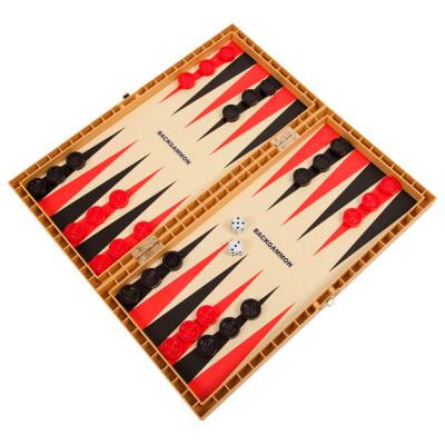Игра настольная Bondibon Удачная партия 3в1 шахматы/шашки/нарды вв3490