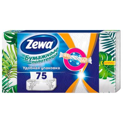 Полотенца бумажные Zewa 75 листов 2-х слойные