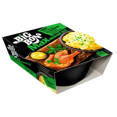 Картофельное пюре Big Bon 110г с кусочками курицы и соусом