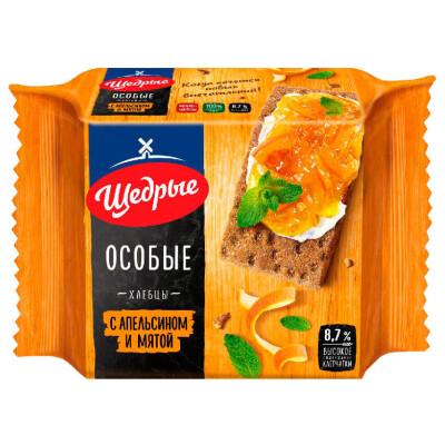 Хлебцы Щедрые 200г ржано пшеничные особые с укропом и чесноком