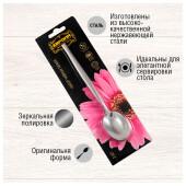 Набор чайных ложек Европа 2шт серебряные tk-1085
