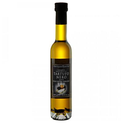 Масло оливковое Giuliano Tartufi 100мл нерафинированное ароматизированное черным трюфелем