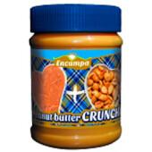 Паста арахисовая Crunchy Encampa с кусочками арахиса 340г