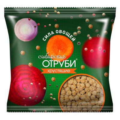 Отруби сибирские 100г сила овощей пакет