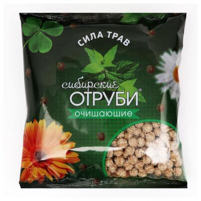 Отруби Сибирские 100г сила трав пакет