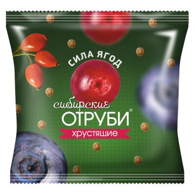 Отруби Сибирские 100г сила ягод пакет
