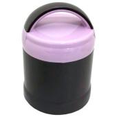 Термос для еды 1,0л серо-розовый hp89-100