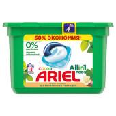 Капсулы для стирки ариэль 18шт аромат масла ши