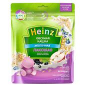 Молочная каша Heinz 170г лакомая овсяная яблочко черника черная смородинка с 5 месяцев
