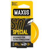 Презервативы MAXUS 3шт спешл точечно-ребристые