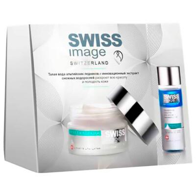 Набор подарочный Swiss имидж 6 крем ночной 50мл+средство двухфазное для снятия макияжа с глаз