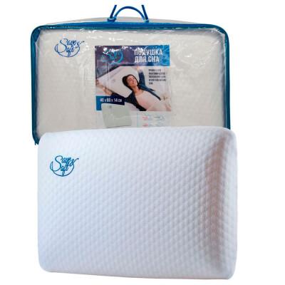 Подушка Save&Soft д/сна 60*40*14см сумка из пвх