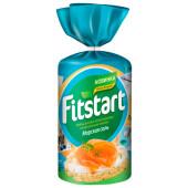 Хлебцы Fitstart рисовые 90г морская соль