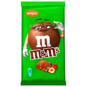 Шоколад M&Ms 125г молочный с фундуком и разноцветным драже
