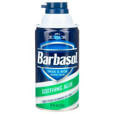 Пена-крем для бритья Barbasol 283мл смягчающая с экст.алоэ