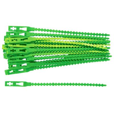 Подвязки д/садовых растений  50шт 17см пластиковые палисад