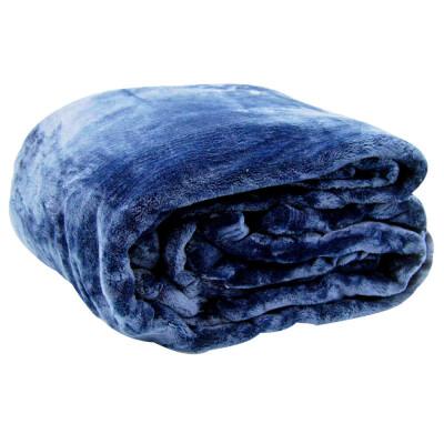 Плед Save&Soft плед синий 180*220 см